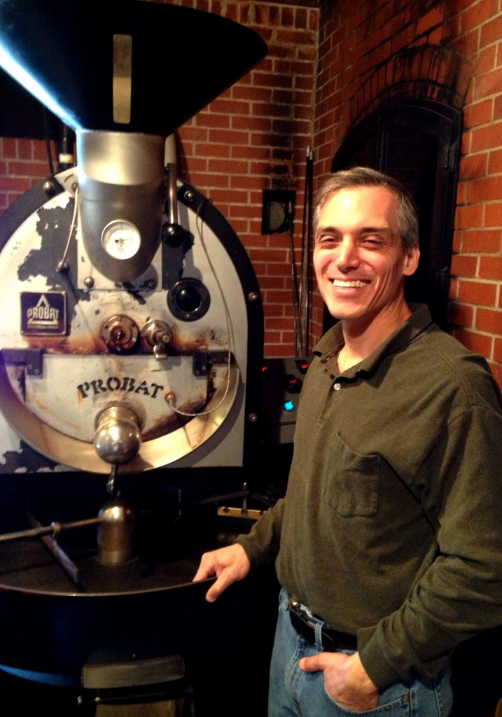Jerome Pappas, Owner and Roaster of Piedmont Coffee Roasters