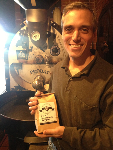 Jerome Pappas, Owner and Roaster at Piedmont Coffee Roasters
